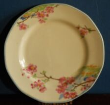 Un dipinto a mano Cherry Blossom Vintage Tè Piastra