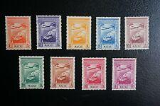 (T4) PORTUGAL Portuguese Macao Macau 1938 Empire airmail complete set** (MNH)