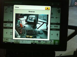 John Deere 6R Tractor 4600 Display 2 Camera Adaptor Cable