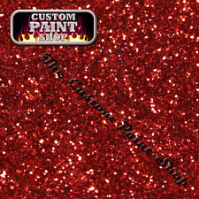 """Metal Flake, Custom Paint HELLFIRE CANDY RED  50grams Small (100micron 0.004"""")"""