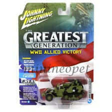 JOHNNY LIGHTNING JLCP7070 WWII ALLIED VICTORY MILITARY 1/64-1/87 M16 HALF TRACK
