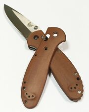 Scales for Benchmade Griptilian full size (Brown Micarta)