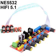 NE5532 HIFI 5.1 Tone Plate Pre-amplifier Board Volume Control Panel AC12V-0-12V