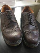 Dr. Martens Doc England Vintage Oxblood Leather Wingtips Uk 8 , 1A72 CK