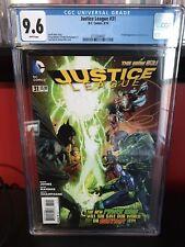 Justice League 31, DC 2014, CGC 9.6, 1st Jessica Cruz Green Lantern