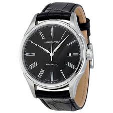 Hamilton Valiant Black Leather Mens Automatic Watch H39515734-AU