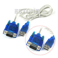 USB to RS232 Serial Port 9 Pin DB9 Cable Serial COM Port Adapter Convertor