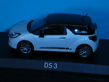 DS 3 (Citroen) in White/Brown  2016  A Norev 1:43rd Scale Modern Model