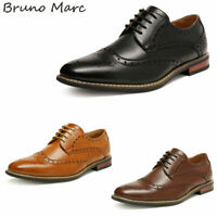 Bruno Marc Mens Classic Dress Shoes Formal Business Shoes Brogue Oxford Shoes