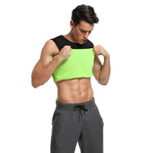 Men's Waist Trainer Vest Sauna Sweat Body Shaper Hot Top Slimming Trimmer Shirt