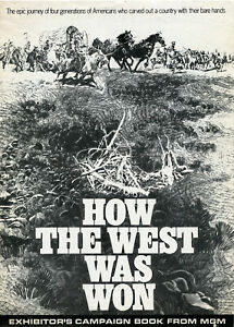 HOW THE WEST WAS WON • 1970 ReRelease • M-G-M • All-Star Cast • Complete