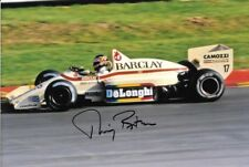 Thierry Boutsen SIGNED  Arrows-BMW A8 , British Grand Prix  Brands Hatch 1986