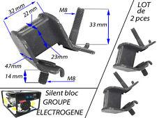 groupe électrogene Pièce lot de 2 silent bloc Silentbloc Dimension sur PHOTO
