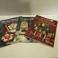 speltz's simply seasonal favorites plum purdy winter whimsy lot paint book