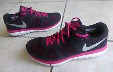 Nike Flex 2014 Run Pink Running Shoes Women Ladies Size 8.5 Training