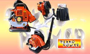 Soffiatore Motore a Scoppio Per Foglie a Spalla Zaino 2 Tempi 43 CC TEKNO POWER