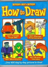 Step By Step How To Draw *LOW PRICE* FREE SHIPPING
