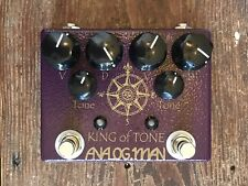 Analogman King of Tone Overdrive Guitar Effect Pedal
