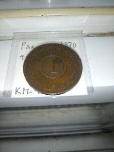 Paraguay Republic 4 Centesimos 1870 km 4.1 High Grade South America Big Cooper C