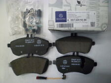 Genuine Mercedes-Benz E-Class W212 Front brake pads & sensor A0074209220