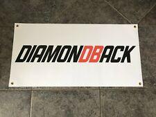 Diamondback banner sign shop wall garage mountain bike BMX cycling downhill