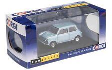Vanguards Austin Mini 7 Deluxe VANDEN PLAS gris-bleu métallisé VA01317