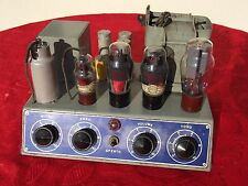 1 tube valve amplifier made in Italy 6J7 79 6V6 5Z3 Rare CINEMA AMP WITH TUBES
