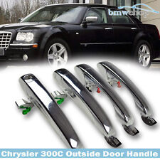 Chrysler Outside Door Handle 300C 300 Dodg Magnum Charger 4 Pcs 2010 SE