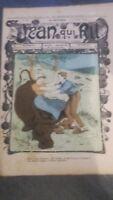 Rivista Jeans Che Rit N° 386 1908 Giornale Illustre che Appaiono Il Venerdì ABE