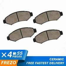 REAR SAF Superior Quality Ceramic Brake Pads with Hardware SAF1288