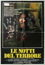 LE NOTTI DEL TERRORE Zombi Horror - Burial ground A.BIANCHI, SOGGETTONE, HORROR
