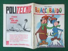 BRACCOBALDO n.17 Ed. Mondadori (1966) HANNA BARBERA Fumetto spillato Mensile