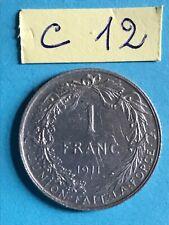 Belgique - Albert I : 1 franc 1911 FR en argent