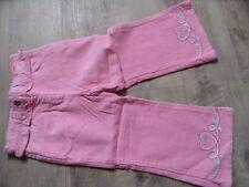 GYMBOREE schöne Cordhose rosa m. Stickereien Gr. 3/98 NEU ST817