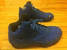 NIKE LEBRON XI EXT SUEDE QS 656274-440 SIZE 9 WATCH THE THROWN PALMER WTL SOLAR