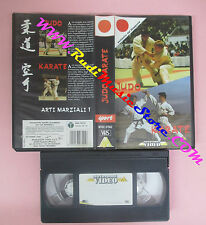VHS film JUDO KARATE Arti marziali 1 1990 MONDADORI VIDEO MVSC 07002(F153)no dvd