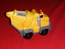 Rare Retired 2006 Cement Truck w/Sign F.P Geotrax K7114 Push Toy Sound Light Euc