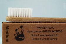 The Environmental Bamboo Toothbrush * Adult Medium * ECO FRIENDLY * Fast Ship