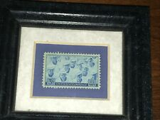 Legacies Framed & Boxed US Navy 3 Cent Stamp World War II 1945 Made In USA