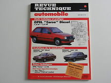 revue technique automobile RTA neuve OPEL Corsa diesel 1.5 D et 1.5 TD n° 513