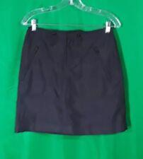 RALPH LAUREN GOLF Black  Mini Skirt Size 2 100% Polyester