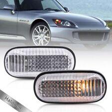 Clear Lens OEM Side Marker Light for 00-09 Honda S2000 S2K Fender Indicator Lamp