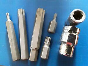 Torx / Star  INSERT BIT 75mm/ 30mm long T20,T25,T45,T50,T55,T60