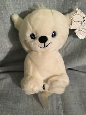 Neopets PetPet Doglefox-white-Plushie. New With All Tags. 2002. Limited Edition.