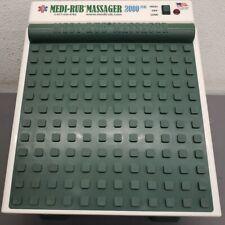 RETURNED Medi-Rub 2000 Plus Foot Massager