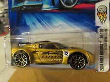Hot Wheels Lotus Sport Elise #036 2004 First Editions Gold