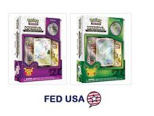 Mew Mythical Box + Celebi Mythical Pin Set Bundle Pokemon Tcg Generations Packs