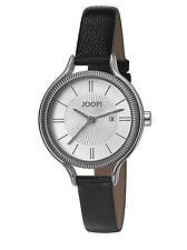 Joop! Damenuhr JP101762004 JP Jessica silver black schwarzes Lederband