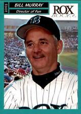 2003 Brockton Rox Actor Bill Murray Director of Fun Baseball Card RARE 2016 Cubs