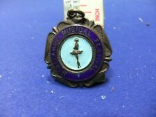 vtg badge medal morecambe musical festival award prize competitor 1950s 60s